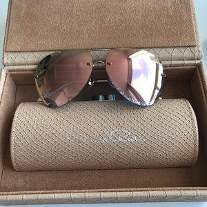 Oscar de la Renra x Linda Farrow sunglasses